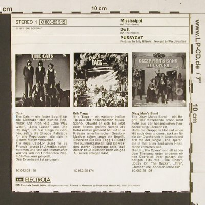Pussycat: Mississippi / Do It, EMI(C 006-25 312), D, 1975 - 7inch - S7889 - 2,50 Euro