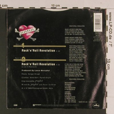 Bernward: Rock'n'Roll Revolution *2, Mercury(874 926-7), D, 1989 - 7inch - S8016 - 2,50 Euro