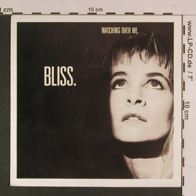 Bliss.: Watching over me, Parlophone(20 4256 7), D, 1991 - 7inch - S8021 - 2,50 Euro