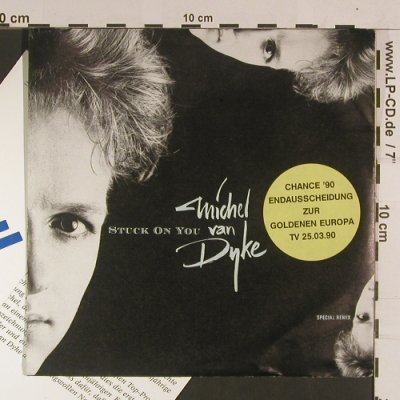 Van Dyke,Michelle: Stuck on you, Chrysalis(112 650), D, 1990 - 7inch - S8042 - 3,00 Euro