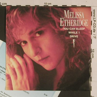 Etheridge,Melissa: You can sleep while I drive, m-/vg+, Island(113 052), D, 1988 - 7inch - S8070 - 2,50 Euro