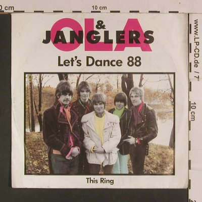 Ola & Janglers: Let's Dance 88 / This Ring, m-/vg+, Telstar World(577 /0216-7AE), D,  - 7inch - S8071 - 1,50 Euro