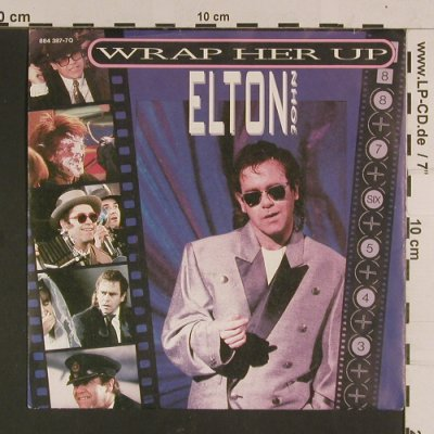 John,Elton: Wrap her up, Rocket Record Company(884 387-7Q), D, 1985 - 7inch - S8080 - 2,50 Euro