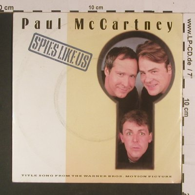 McCartney,Paul: Spies Like US/My Carneval, m-/vg+, Parlophone(20 0940 7), D, 1985 - 7inch - S8081 - 3,00 Euro