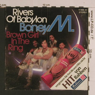 Boney M.: Rivers Of Babylon/Brown Girl In The, Hansa(Bahlsen)(11 999 AT), D, vg+/vg+, 1978 - 7inch - S8198 - 2,00 Euro