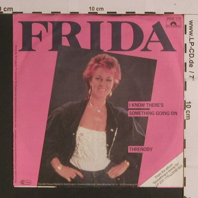 Frida (Abba): I Know There's Someth.../ Threnody, Polydor(2002 170), D, 1982 - 7inch - S8227 - 3,00 Euro