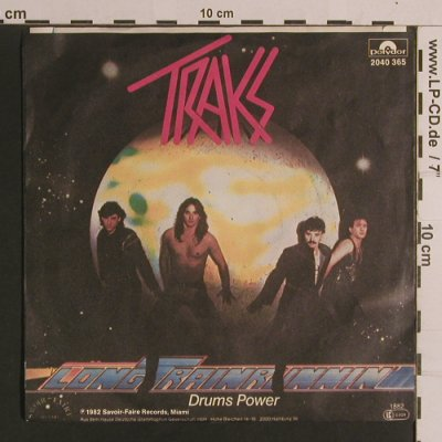 Traks: Long Train Running / Drums Power, Polydor(2040 365), D, 1982 - 7inch - S8257 - 3,00 Euro