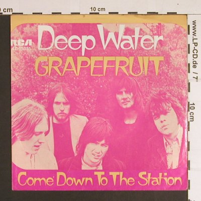 Grapefruit: Deep Water / Come down to t.Stadion, RCA(47-15151), D,vg-/m-,  - 7inch - S8716 - 2,00 Euro