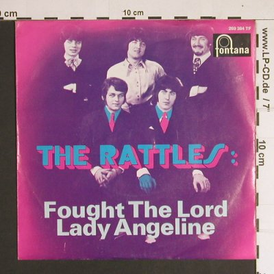 Rattles: Fought the Lord / Lady Angeline, Fontana(269 384 TF), D,vg+/m-,  - 7inch - S8719 - 5,00 Euro