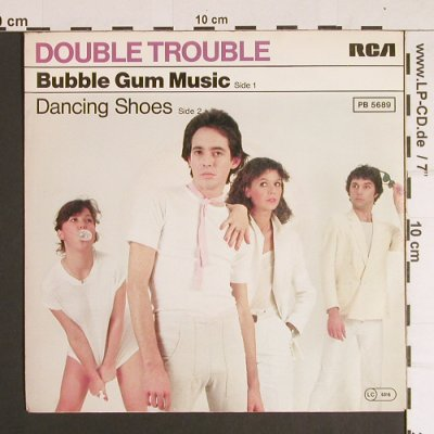 Double Trouble: Bubble Gum Music / Dancing Shoes, RCA(PB 5689), D, 1980 - 7inch - S8762 - 2,50 Euro
