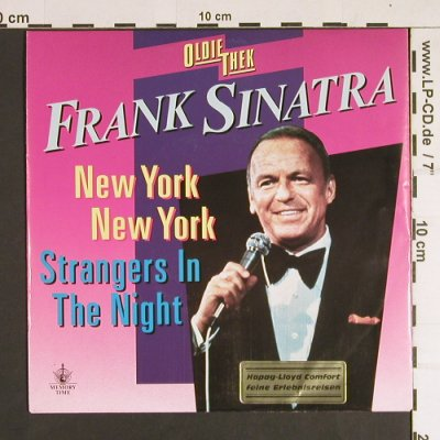 Sinatra,Frank: New York New York/Strangers in t.n., Reprise(927 803-7), D, 1988 - 7inch - S8804 - 3,00 Euro