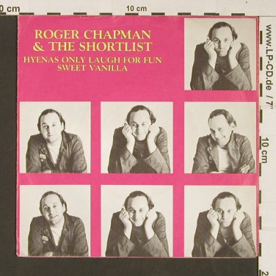 Chapman,Roger & Shortlist: Hyenas Only Laugh For Fun/SweetVan, Line(6.13269 AC), D, 1981 - 7inch - S8962 - 3,00 Euro