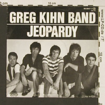Kihn Band,Greg: Jeopardy / Fascination, Berserkley(96.9847-7), D, 1983 - 7inch - S8963 - 3,00 Euro
