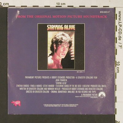 Stallone,Frank: Far From Over / Waking Up, RSO(815 023-7), NL, 1983 - 7inch - S8971 - 3,00 Euro