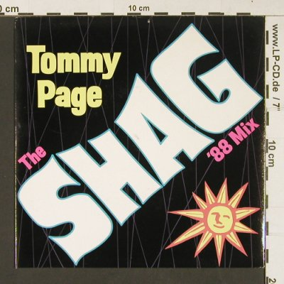 Page,Tommy: The Shag'88 mix/Hard to be normal, Sire(W7739X), UK, 1988 - 7inch - S9002 - 3,00 Euro