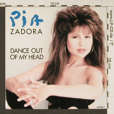 Zadora,Pia: Dance out of my Head, Epic(EPC 652866 7), NL, 1988 - 7inch - S9018 - 2,50 Euro