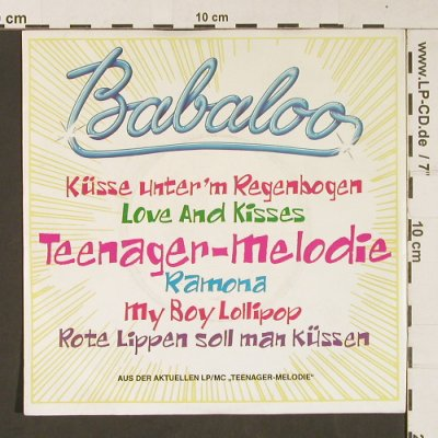 Babaloo: Teenager-Melodie *2 (Medley), EMI(20 1542 7), D, 1986 - 7inch - S9064 - 2,50 Euro