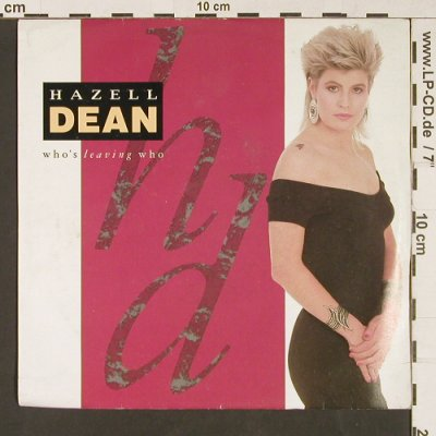 Dean,Hazel: Who's leaving you, EMI(EM 45), UK, 1988 - 7inch - S9110 - 2,50 Euro