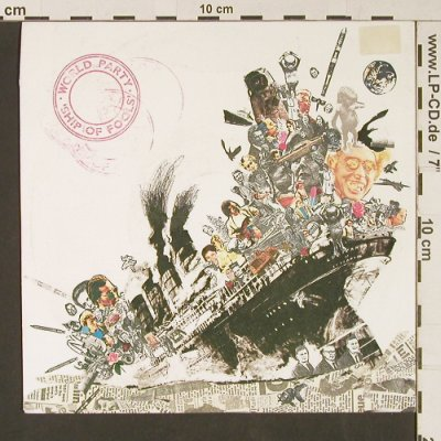 World Party: Ship Of Fools / World Groove, Chrysalis(108 877), D, 1987 - 7inch - S9125 - 1,50 Euro