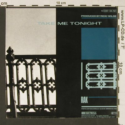 Wilde,Kim: View From A Bridge/Take Me Tonight, RAK(008-64 757), D, 1982 - 7inch - S9158 - 1,50 Euro