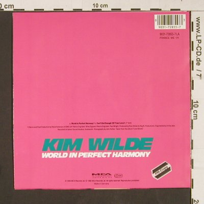 Wilde,Kim: World in Perfect Harmony, MCA(9031-72855-7 LA), D, 1990 - 7inch - S9174 - 3,00 Euro