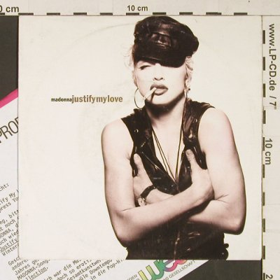 Madonna: Justify my Love/Express yourself, Sire(5439-19485-7), D, m-/vg+, 1990 - 7inch - S9191 - 4,00 Euro