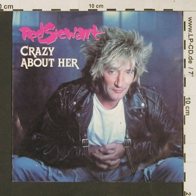 Stewart,Rod: Crazy About Her / Dynamite, WB(927 657-7), D, 1988 - 7inch - S9193 - 3,00 Euro