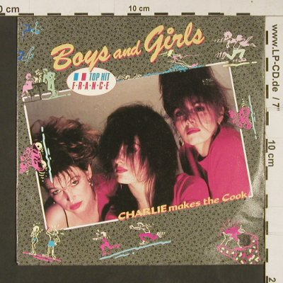 Charlie Makes the Cook: Boys and Girls / Love in the sun, Polydor(888 761-7), D, 1987 - 7inch - S9194 - 2,50 Euro