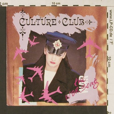 Culture Club: The War Song / Der Kriegsgesang, Virgin(106 852-100), D, 1984 - 7inch - S9226 - 2,50 Euro