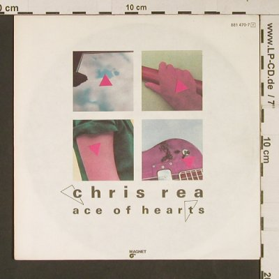 Rea,Chris: Ace Of Hearts / True Love, Magnet(881 470-7), D, 1984 - 7inch - S9256 - 3,00 Euro