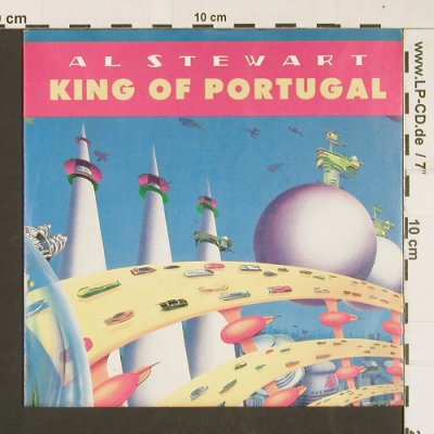 Stewart,Al: King of Portugal*2(album,rock mix), Enigma/Virgin(111 838-100), D, 1988 - 7inch - S9324 - 2,50 Euro