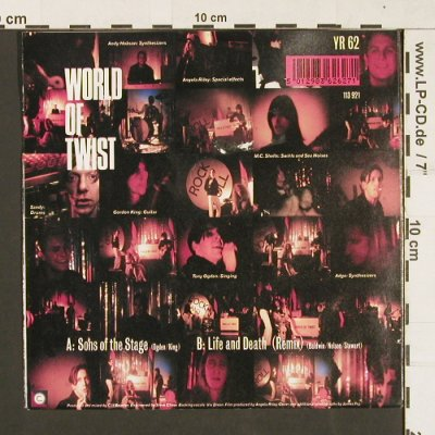 World of Twist: Sons of the Stage/Live a.Death rmx, Virgin/Circa(113 921 / YR62), D, 1991 - 7inch - S9333 - 3,00 Euro