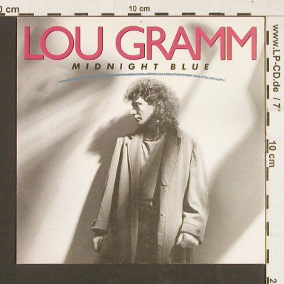 Gramm,Lou: Midnight Blue / Chain of Love, Atlantic(789304-7), D, 1987 - 7inch - S9352 - 2,50 Euro