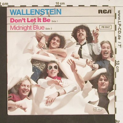Wallenstein: Don't Let It Be / Midnight Blue, RCA Victor(PB 5647), D, 1979 - 7inch - S9361 - 2,50 Euro