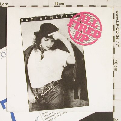 Benatar,Pat: All Fired Up / Cool Zero, Chrysalis(111 539), D, 1988 - 7inch - S9377 - 3,00 Euro