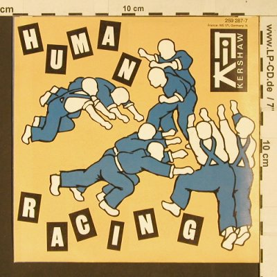 Kershaw,Nik: Human Racing / Faces (rmx), MCA(259 287-7), D, 1984 - 7inch - S9433 - 2,50 Euro