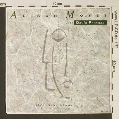 Moyet, Alison wiht David Freeman: Sleep Like Breathing, CBS(651 112 7), UK, 1987 - 7inch - S9445 - 1,50 Euro