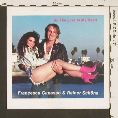 Capasso,Francesca & Reiner Schöne: All the Love in my Heart*2, Jumping Jack(1990-1), D,  - 7inch - S9534 - 5,00 Euro