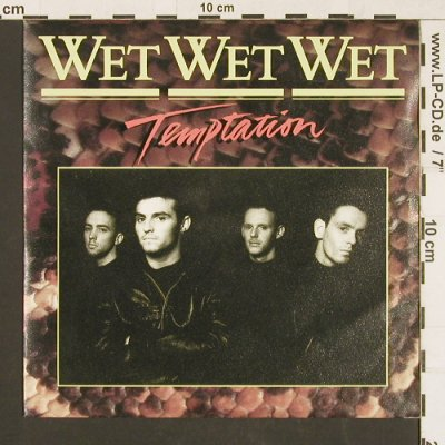 Wet Wet Wet: Temptation / Bottled Emotions, Mercury(INT 870 227-7), D, 1988 - 7inch - S9549 - 2,50 Euro