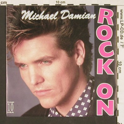 Damian,Michael: Rock on / Where is she, Cypress Rec.(INT 113.326), D, 1989 - 7inch - S9556 - 2,50 Euro
