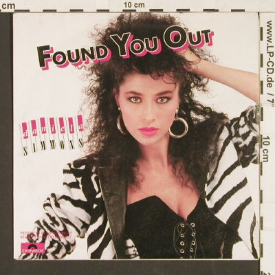 Simmons,Daniela: Found you out / Loving Somebody, Polydor(871 952-7), D, 1989 - 7inch - S9557 - 2,50 Euro