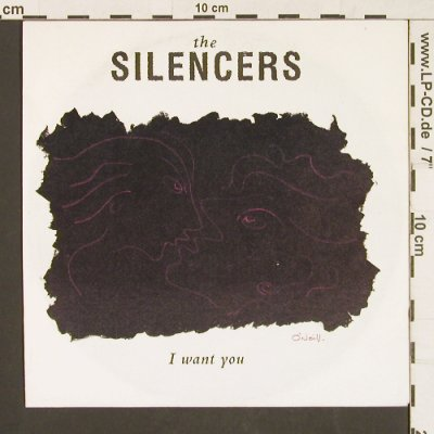Silencers: I want you / Painted Moon, RCA(PB 44417), D, 1991 - 7inch - S9563 - 3,00 Euro