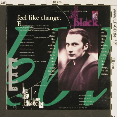BLACK: Feel Like Change / Nice, AM(390 760-7), D, 1991 - 7inch - S9571 - 3,00 Euro