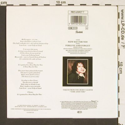 Basia: New Day for You, Portrait(PRT 650927 7), NL, 1987 - 7inch - S9573 - 2,50 Euro