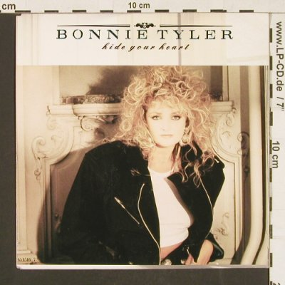 Tyler,Bonnie: Hide Your Heart /I'm not foolin', CBS(651516 7), NL, 1988 - 7inch - S9576 - 3,00 Euro