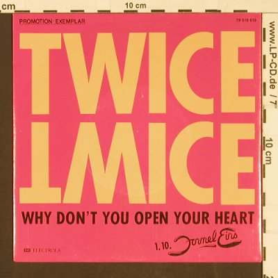 Twice: Why don't you open your/Slow Train, EMI(7P 518 819), D,Promo, 1988 - 7inch - S9591 - 2,50 Euro