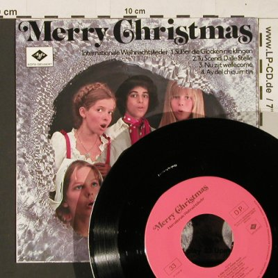 V.A.Merry Christmas: Internationale Weihnachtslieder, Ariola / Agfa(A-2066), D, 33rpm,  - 7inch - S9669 - 3,00 Euro
