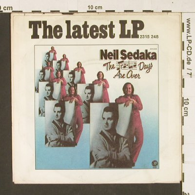 Sedaka,Neil: Our Last Song Together, MGM(2006 307), D, 1973 - 7inch - S9816 - 1,50 Euro