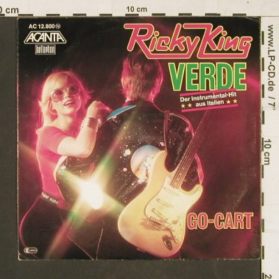 King,Ricky: Verde, Acanta(AC 12.800), D, 1976 - 7inch - S9839 - 2,00 Euro
