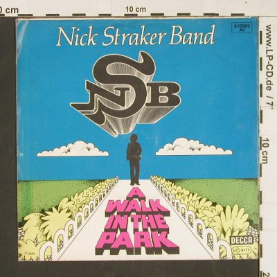 Nick Straker Band: A Walk In The Park, Decca(6.12505 AC), D, 1979 - 7inch - S9840 - 3,00 Euro
